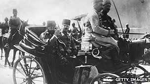 Ottoman governor Jamal Pasha