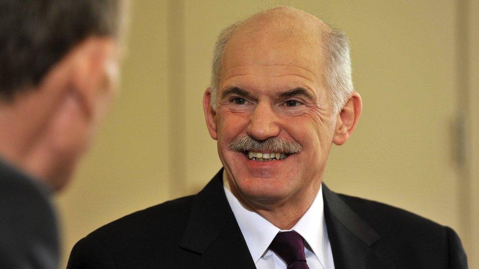 Papandreu, arhiva