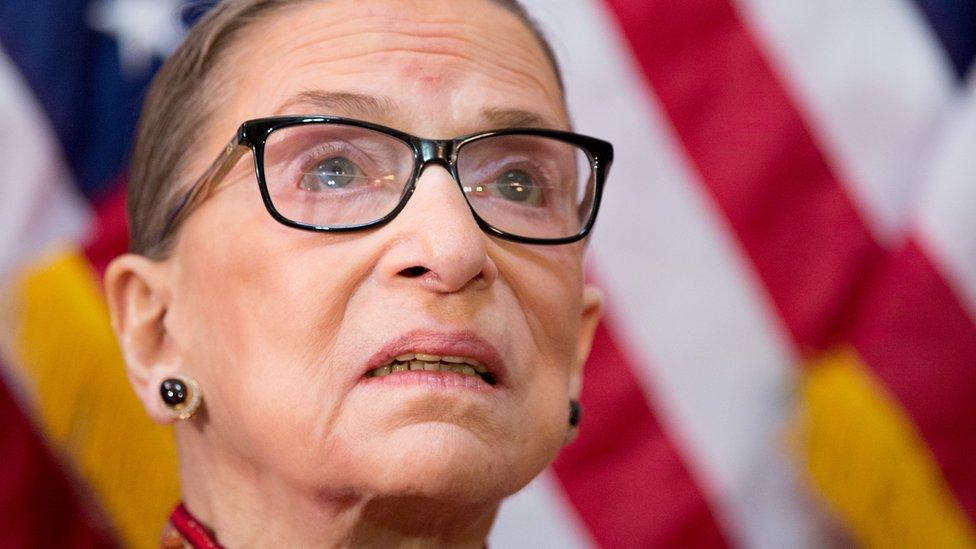 Ruth Bader Ginsburg en 2015.