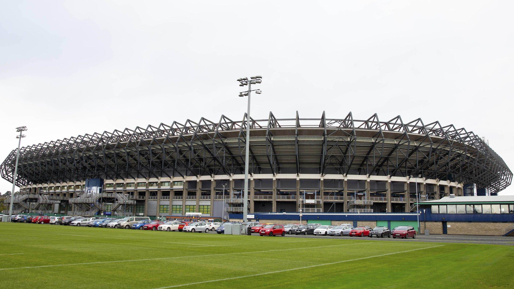 Hearts v Celtic at Murrayfield before Aberdeen v Rangers at Hampden