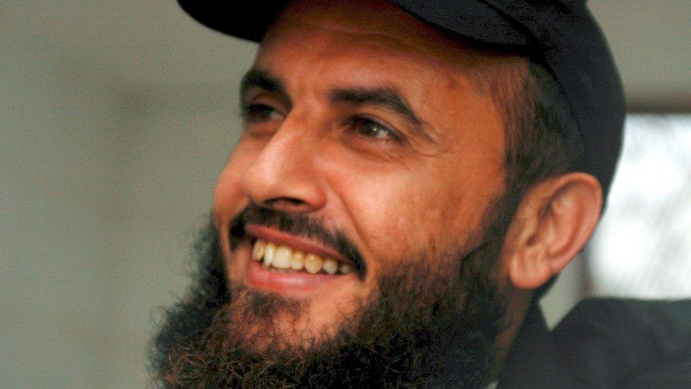 Jamal al-Badawi in Yemen, 16 January 2005