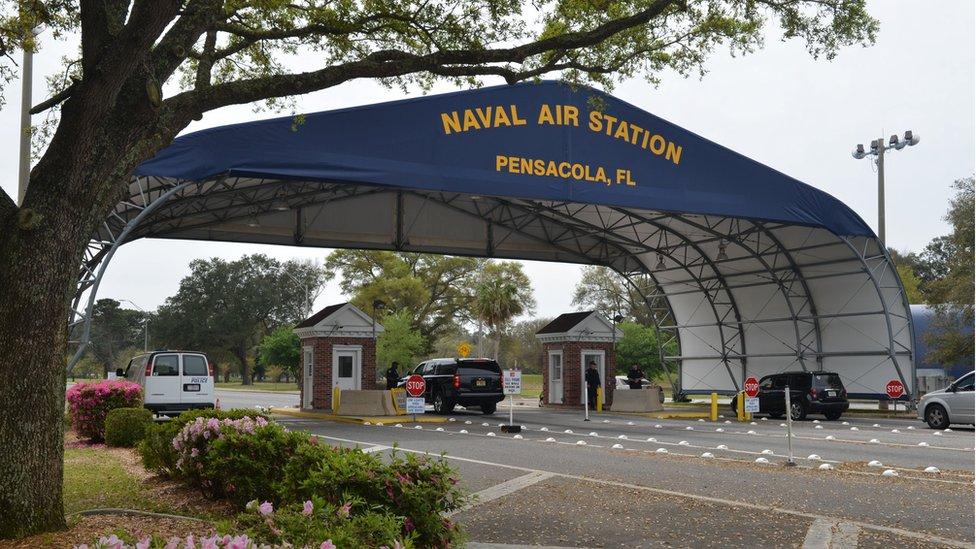 美國佛羅里達州彭薩科拉海軍航空站(2016年資料照片)。