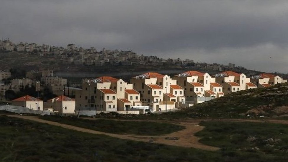 Permukiman Yahudi di Tepi Barat, termasuk di Yerusalem Timur.