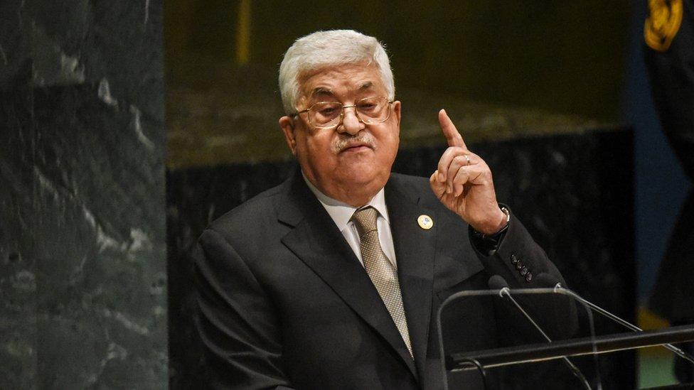 الرئيس عباس رفض مناقشة الخطة مع ترامب