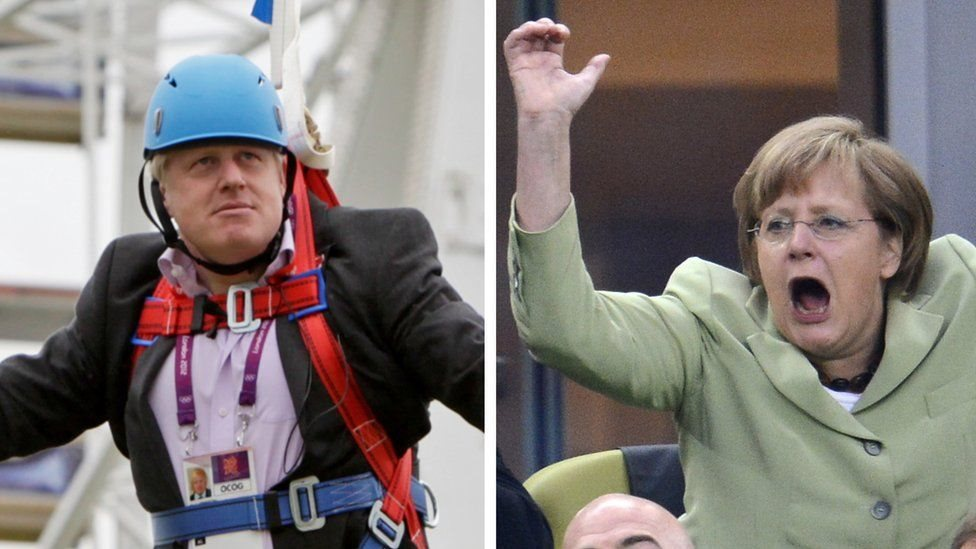 Merkel and Johnson