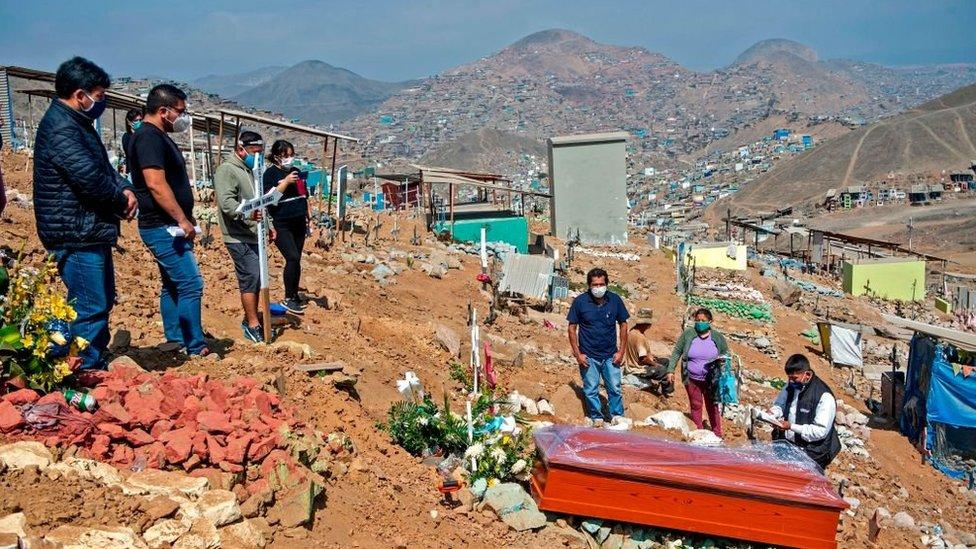 Funeral en Lima.