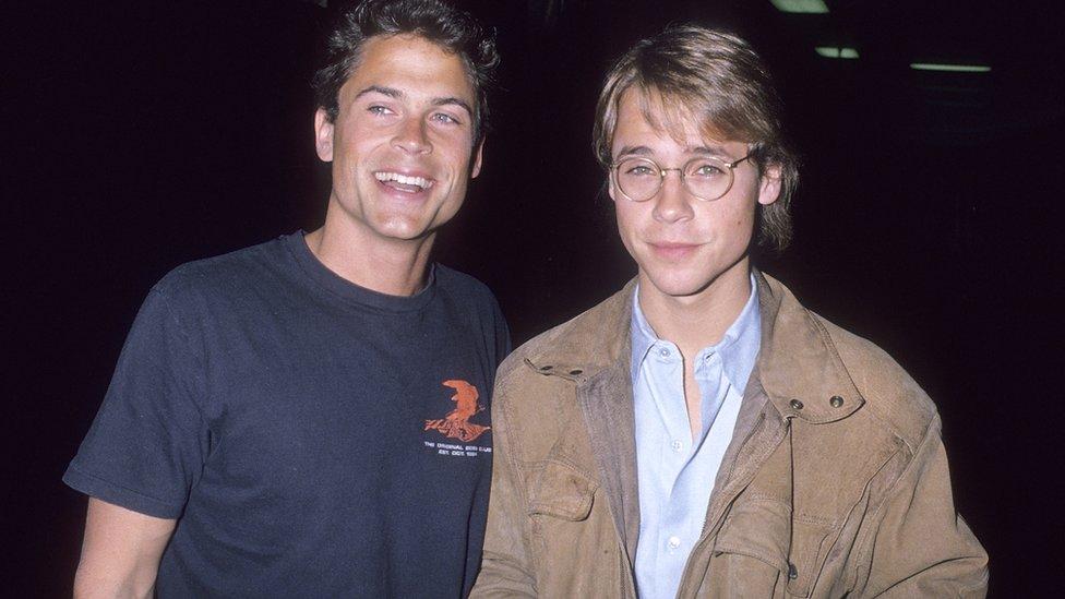 Rob y Chad Lowe