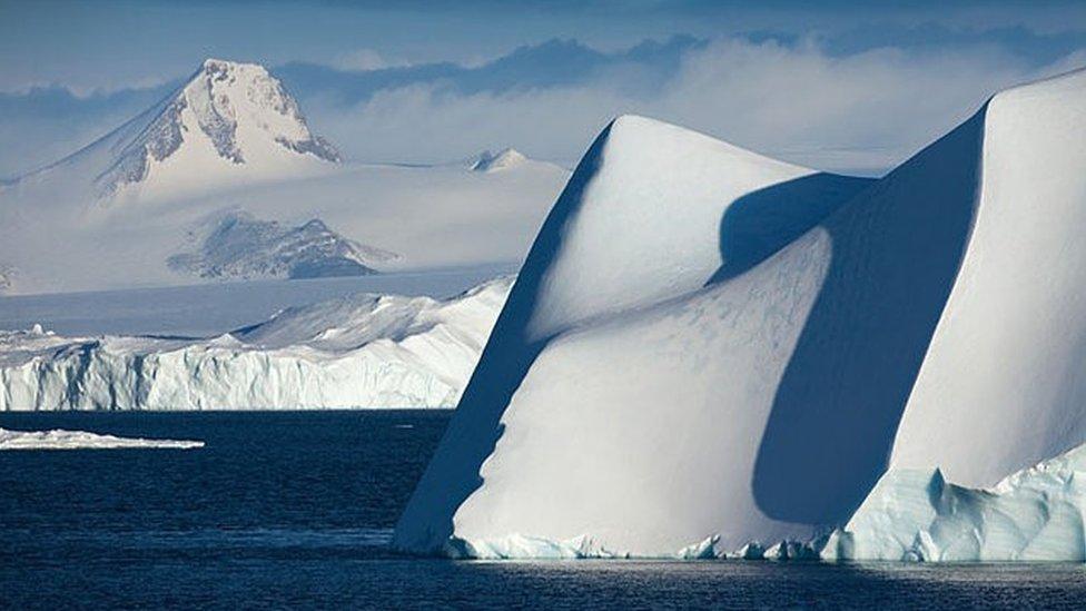 Masas de hielo polar
