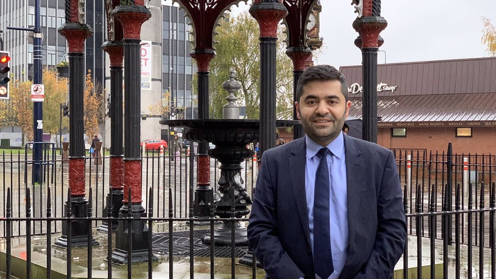 Ibrahim Dogus in West Bromwich