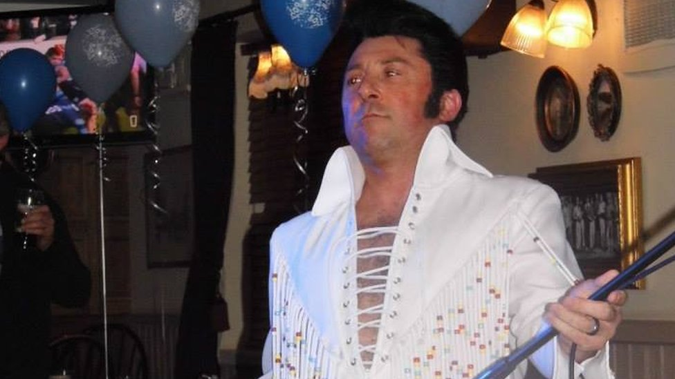 BBC News - Bradford Elvis tribute act fined £9,000 for being 'too loud'