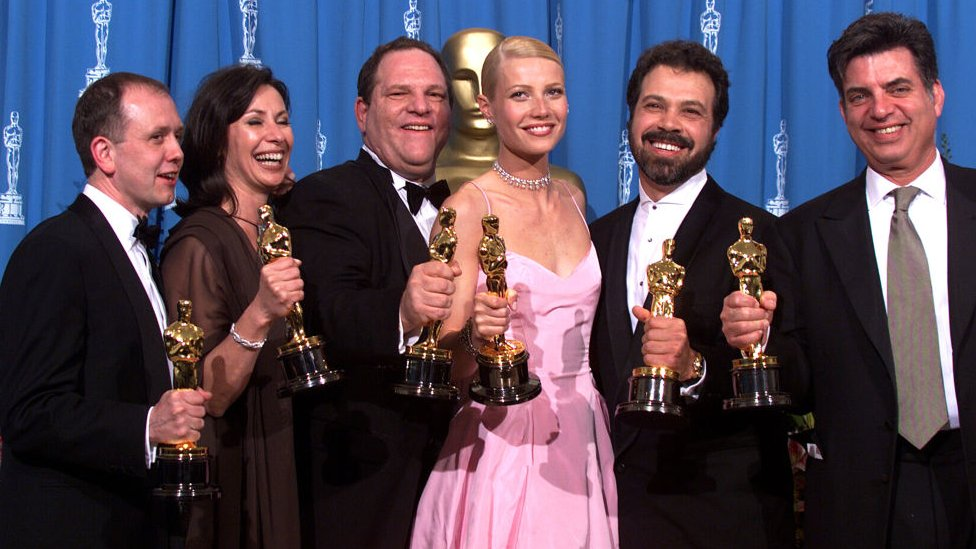 Film Zaljubljeni Šekspir je 1999. dobio sedam Oskara