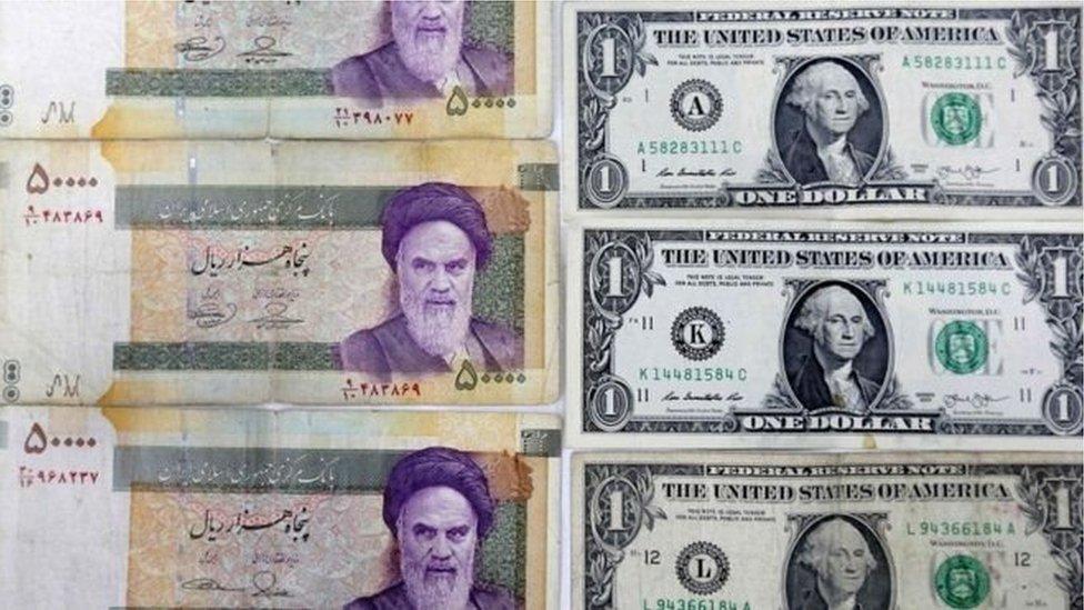 العقوبات الأمريكية أثرت سلباً على الاقتصاد الايراني