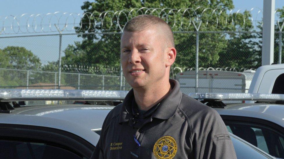 Detective Brandon Cooper, Fentress County Sheriff officer