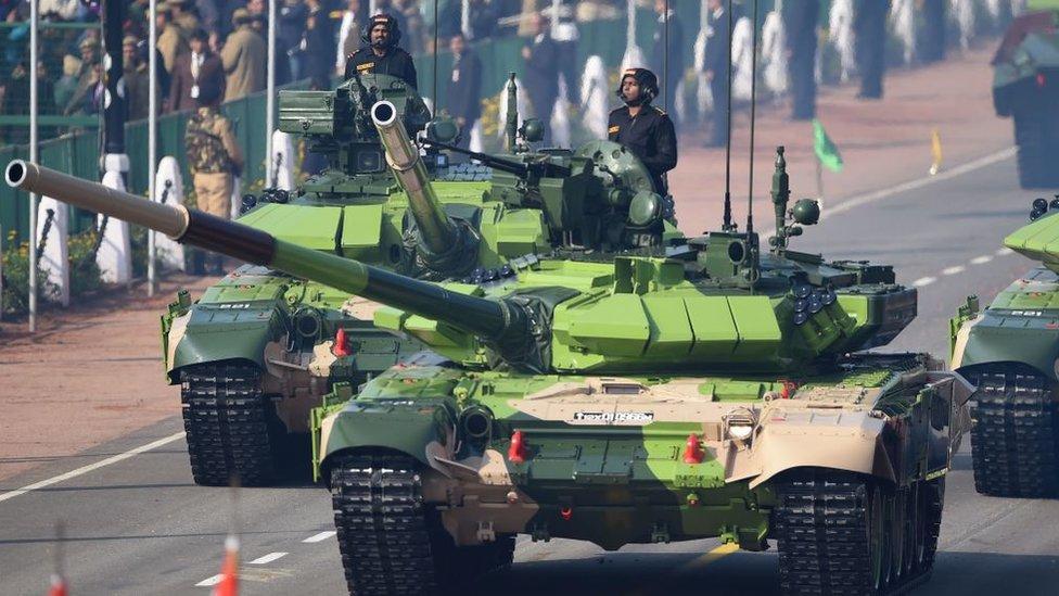 Tanques indios