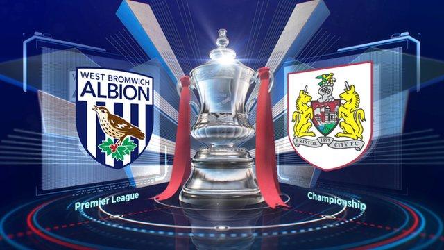 Highlights: West Brom 2-2 Bristol City