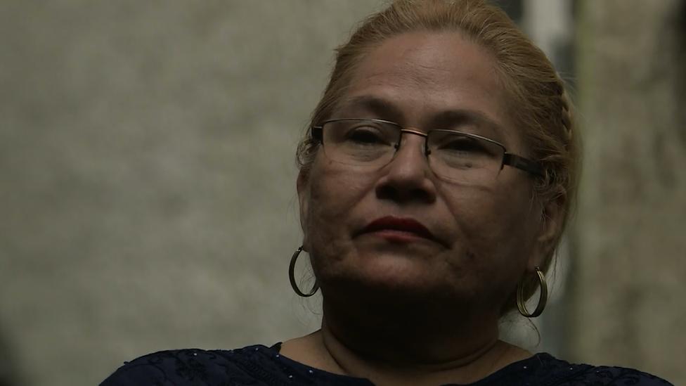 Dolores, madre de Karla Turcios
