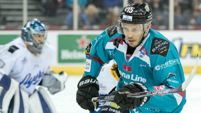 Belfast Giants Kris Beech