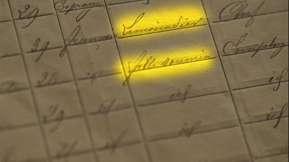 Limonadier y fille soumise en los archivos oficiales