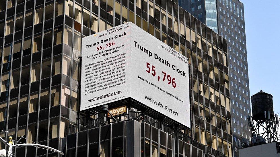 Reloj de la muerte de Trump