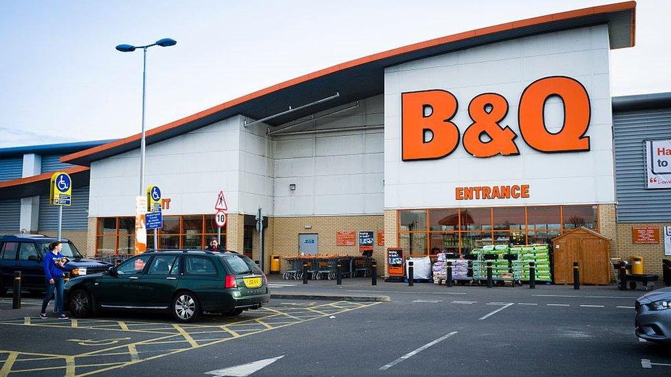 B&Q store