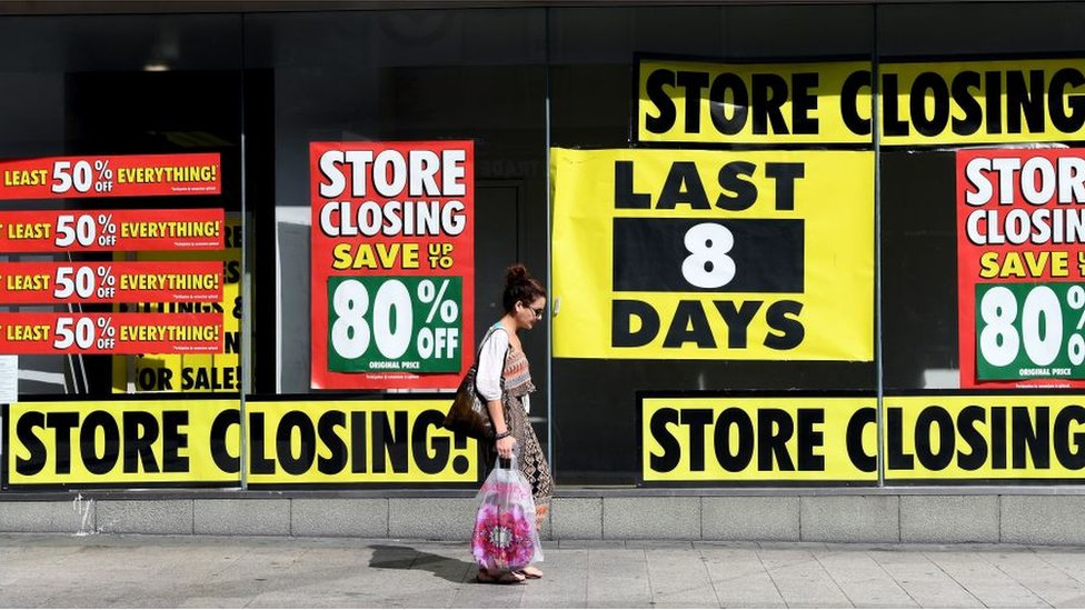 UK High Streets 'have twice as many shops as needed'