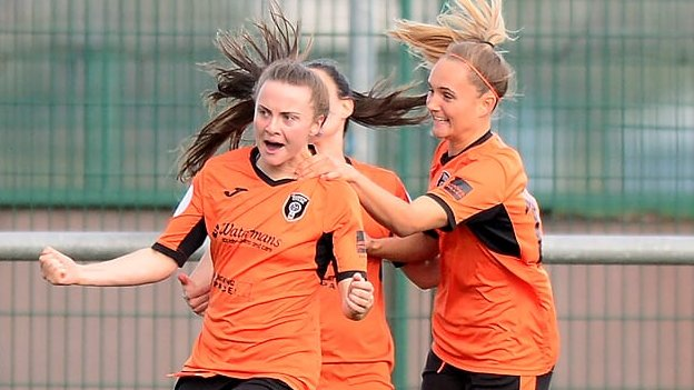 Glasgow City 2-1 Hibernian: City one point away from winning SWPL title