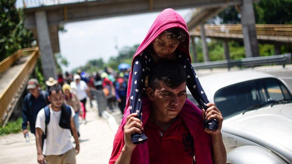 Migrantes centroamericanos