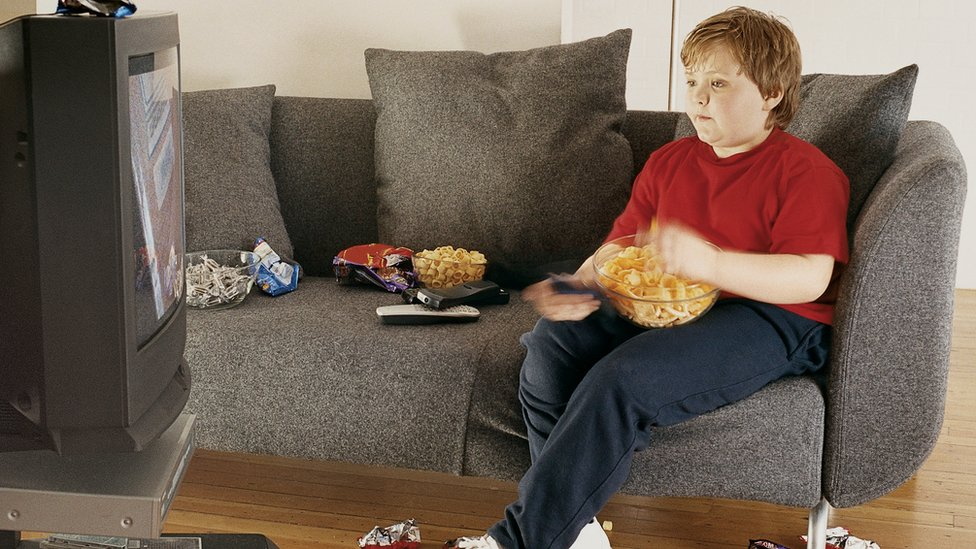 Children 'bombarded by junk food' ads on family shows