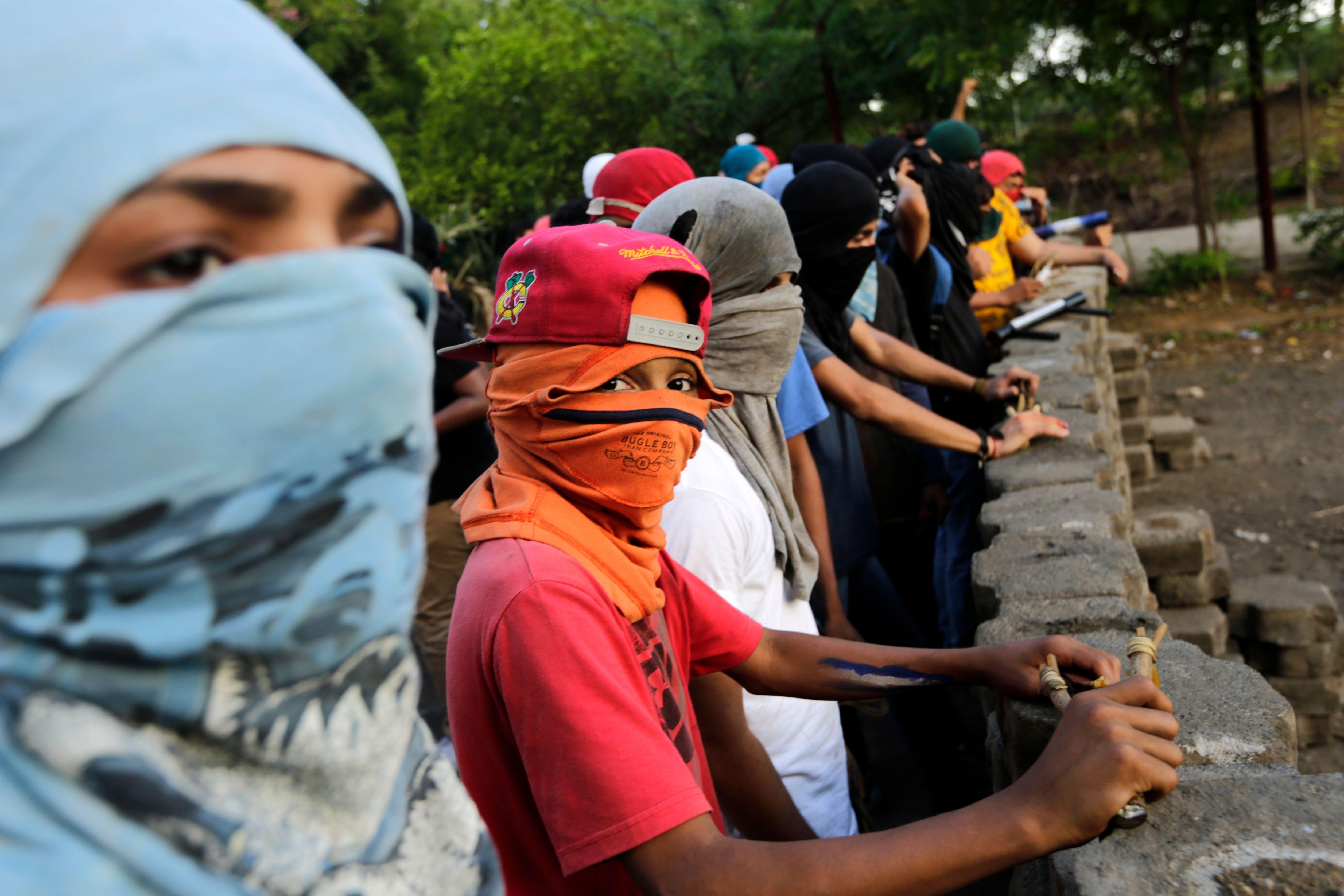 Barricadas en Nicaragua