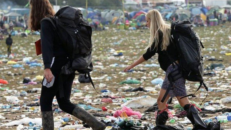 Emily Eavis hopes for a greener Glastonbury festival