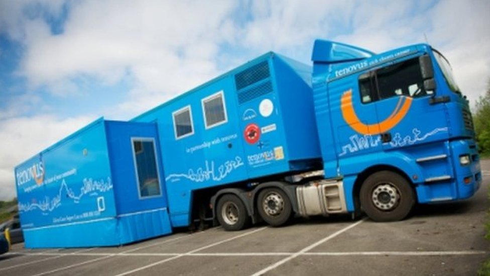 Tenovus to build 'world's biggest' mobile chemotherapy unit