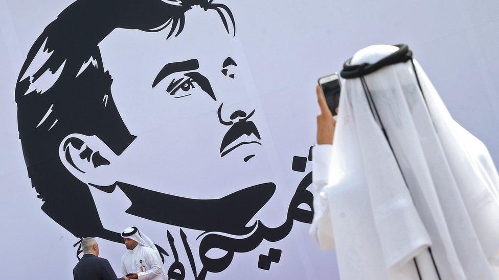 Cerca del 40% de los alimentos que importaba Qatar ingresaban por tierra a través de su única frontera terrestre con Arabia Saudita.