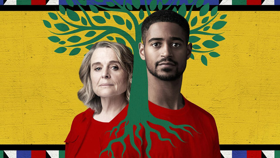 Sinead Cusack and Alfred Enoch