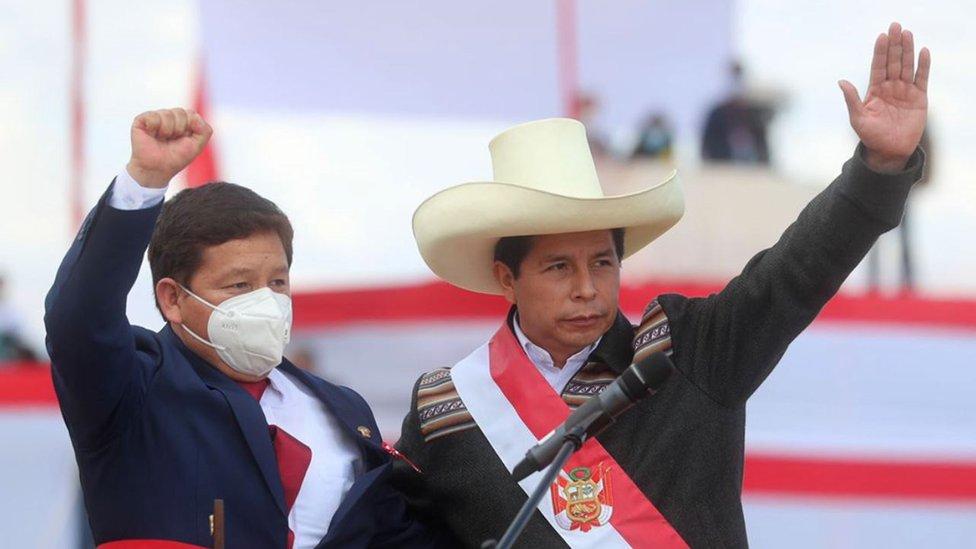 Guido Belido y Pedro Castillo