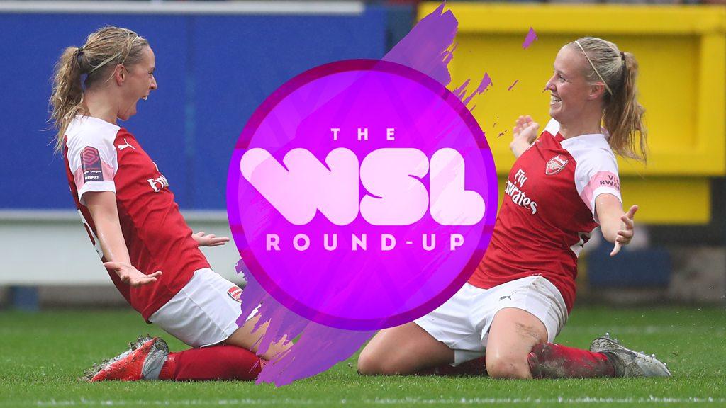 Women's Super League: Nikita Parris stars for Manchester City