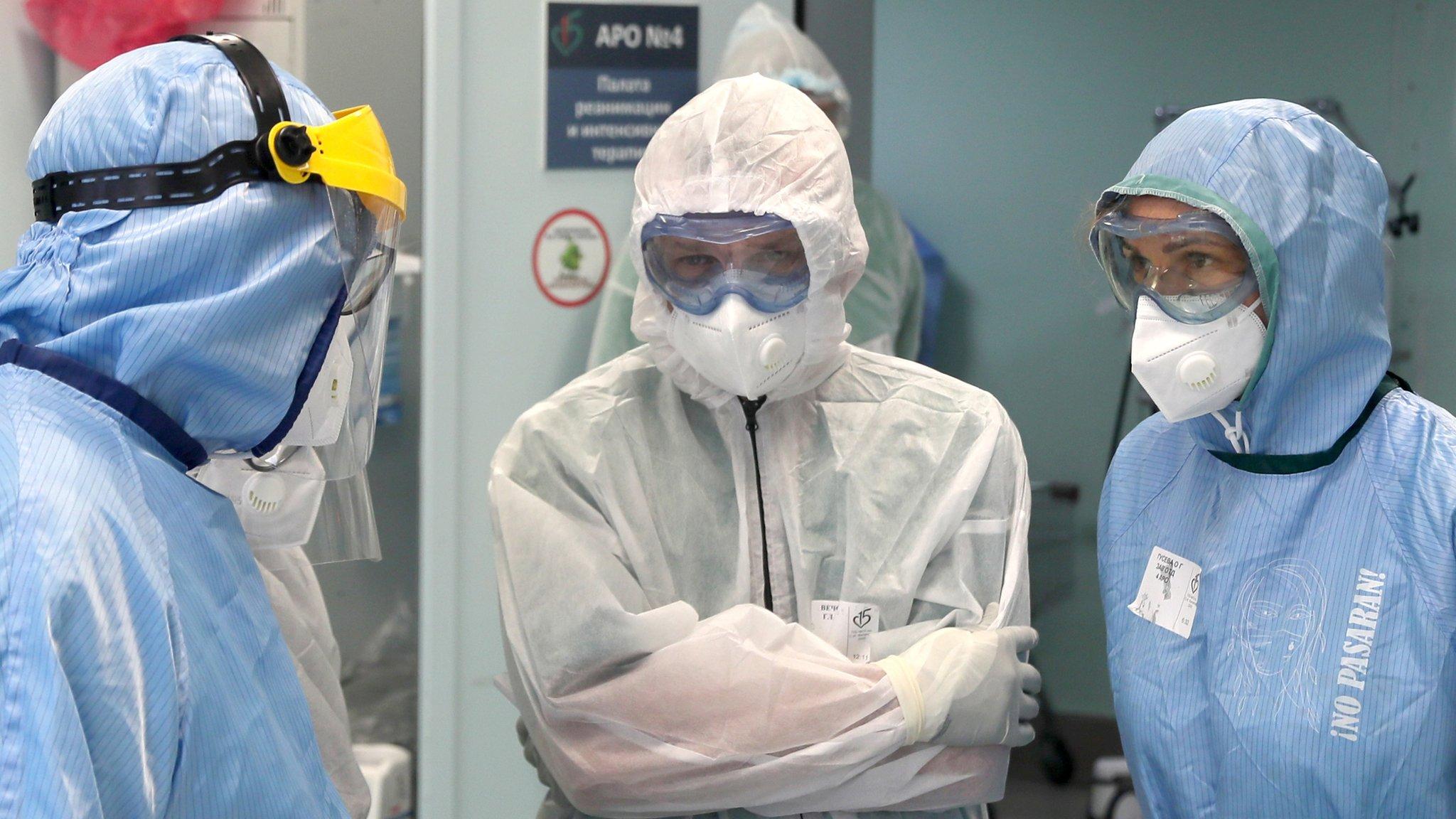 В России зафиксирован новый максимум смертей от коронавируса за сутки