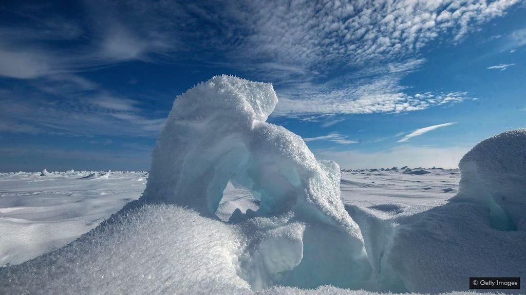 led i sneg