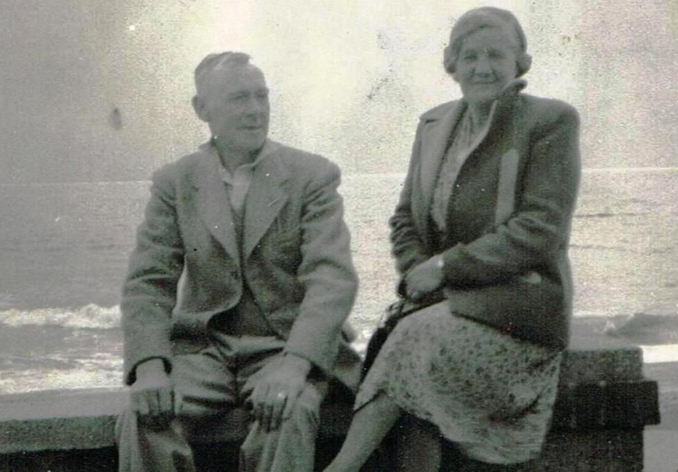 Philip Butcher in the 1940s