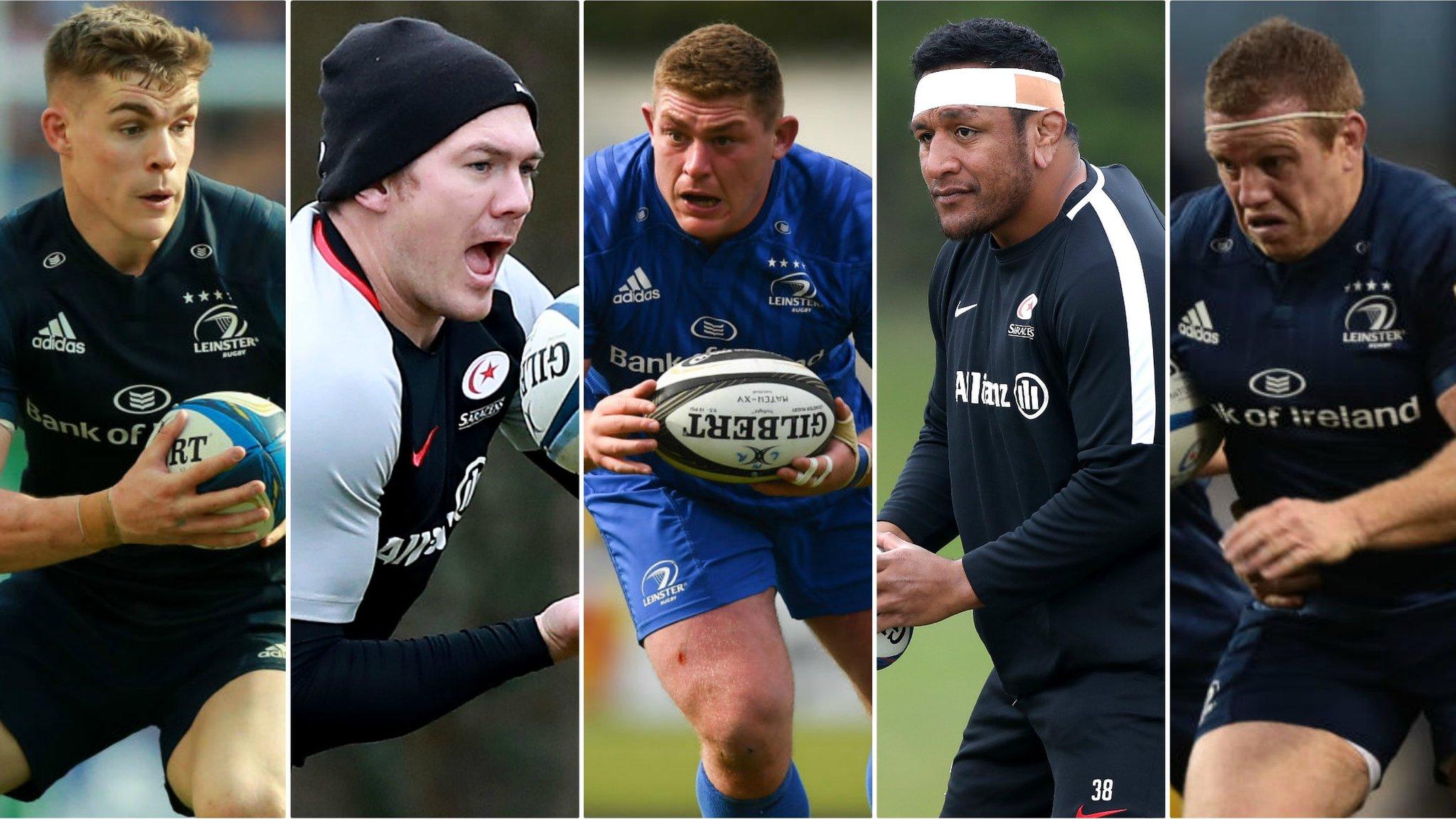 Leinster & Saracens players make up European shortlist