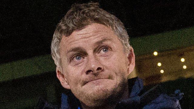 Molde manager Old Gunnar Solskjaer