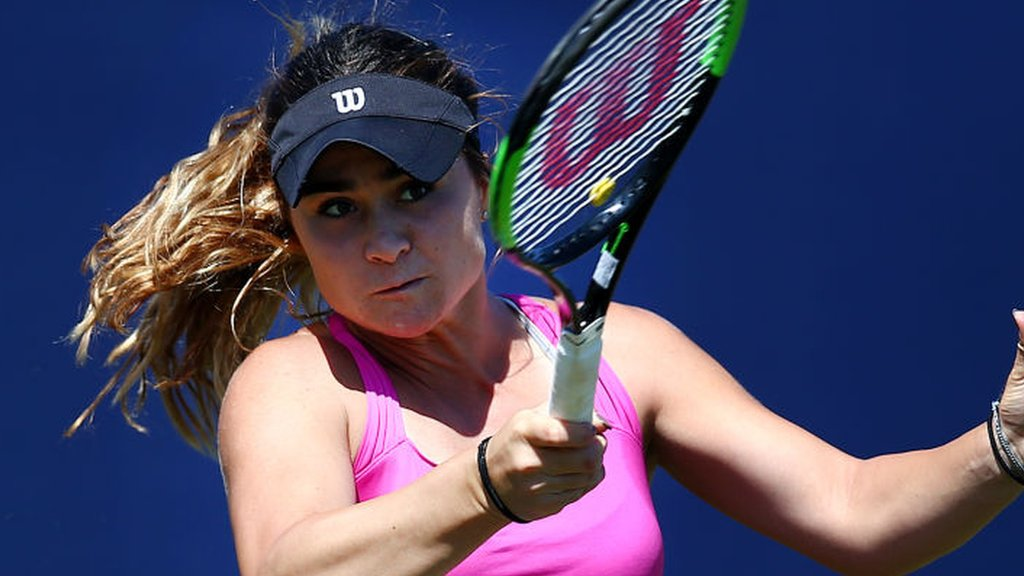 French Open 2018: Gabriella Taylor beaten by Mariana Duque-Marino in qualifying