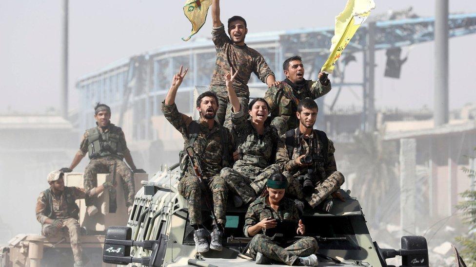 Сирийские ополченцы