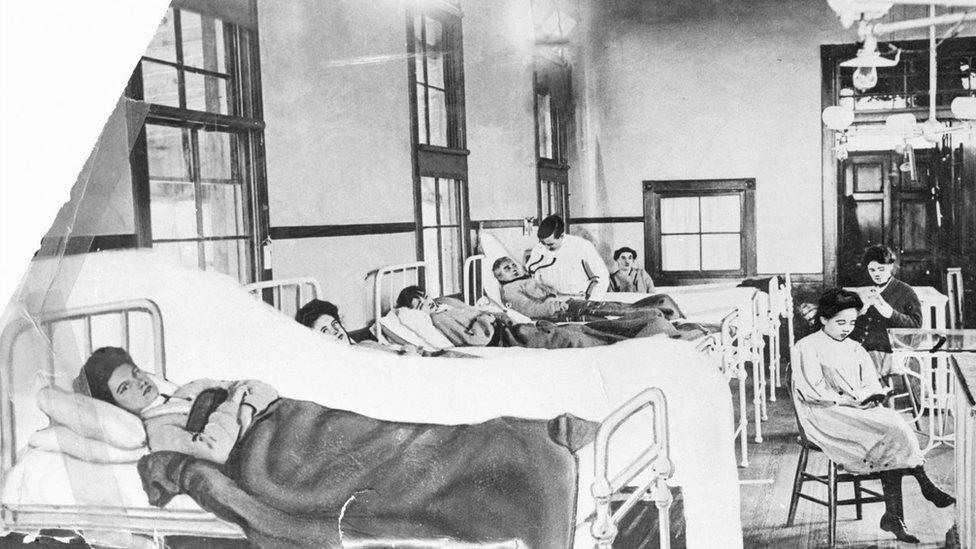 Typhoid Sickroom