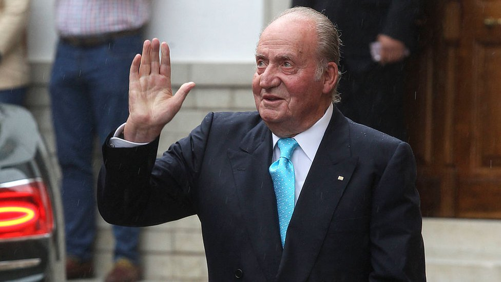 Spain's former King Juan Carlos. File photo