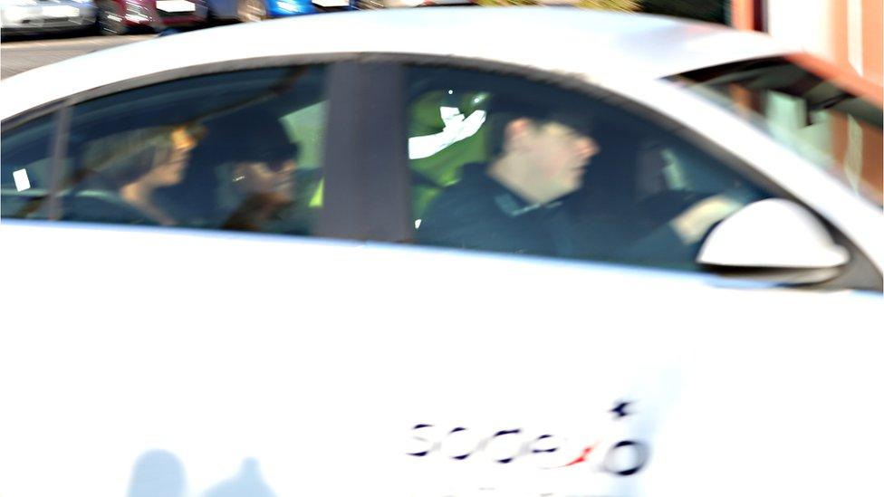 Fiona Onasanya leaving prison