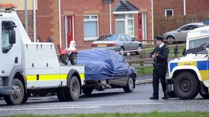 Stephen Carroll murder scene