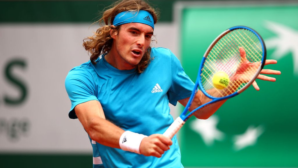 French Open: Stefanos Tsitsipas comfortably into second round