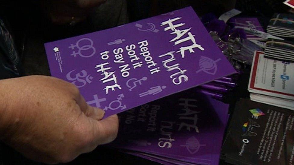 Hate crime leaflet
