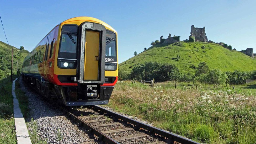 Corfe Castle back on rail network after 46 years