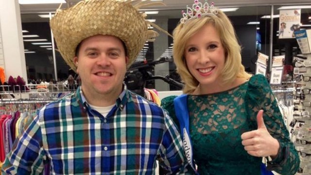 Adam Ward and Alison Parker
